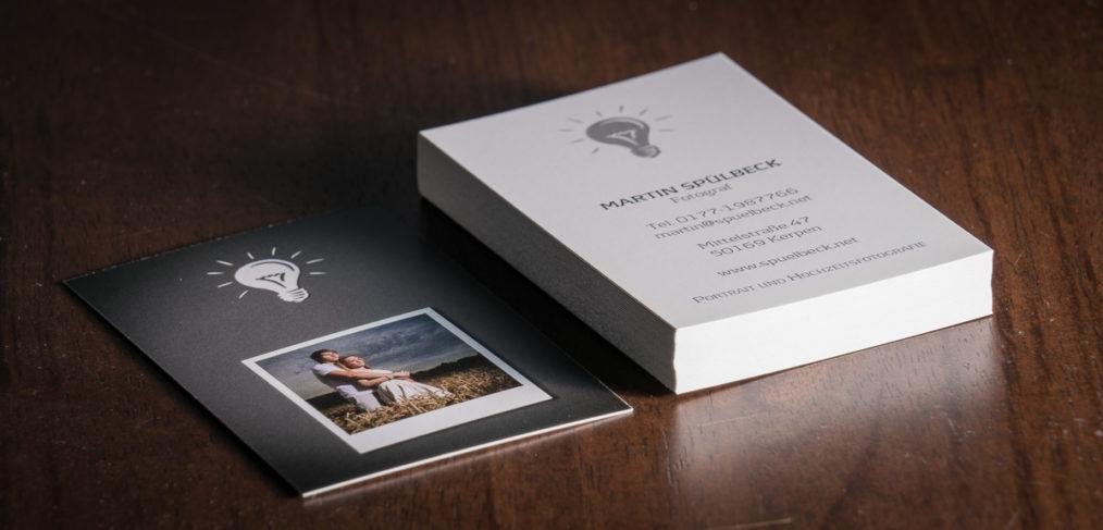 Visitenkarten Für Fotografen Spuelbeck Net